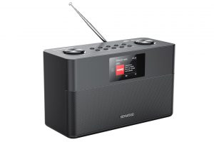 Kenwood-CR-ST100S - Smart WiFi FM/DAB+ rádio s podporou Bluetooth, USB portom a Spotify Connect
