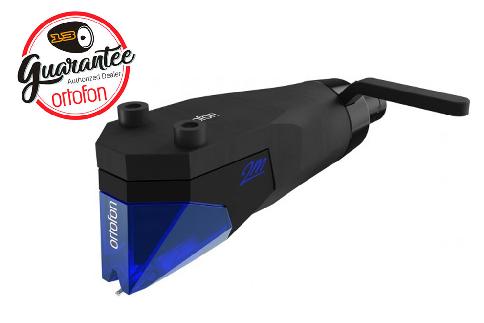 Ortofon-2M-Blue-PnP - gramofónová MM prenoska s headshellom a eliptickým hrotom