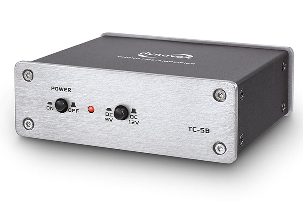 Dynavox-TC-5B - Phono MM predzosilňovač pre gramofónové prenosky
