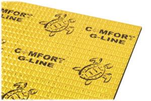 Comfortmat-Gold-G3 - pokročilý antivibračný a antirezonančný materiál do auta s hrúbkou 3mm