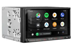 """Zenec-Z-N528 - 2-DIN infotainer s certifikovaným Apple CarPlay a Google Android Auto s veľkým 6,75"""" kapacitným dotykovým displejom"""