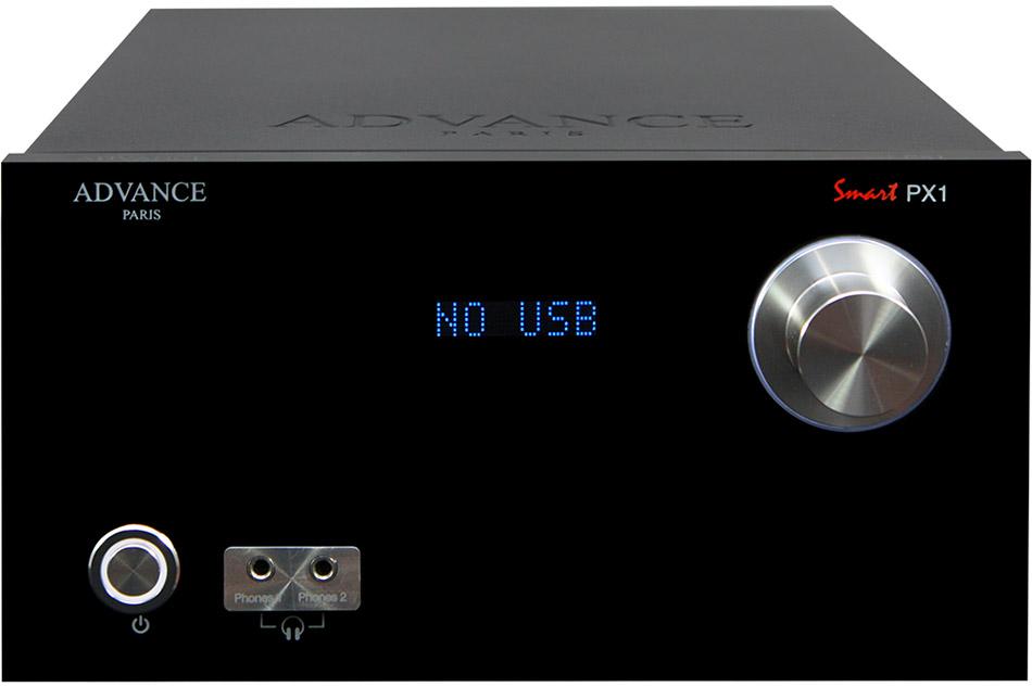 Advance Acoustic PX1 black - predzosilňovač zo série Advance Paris