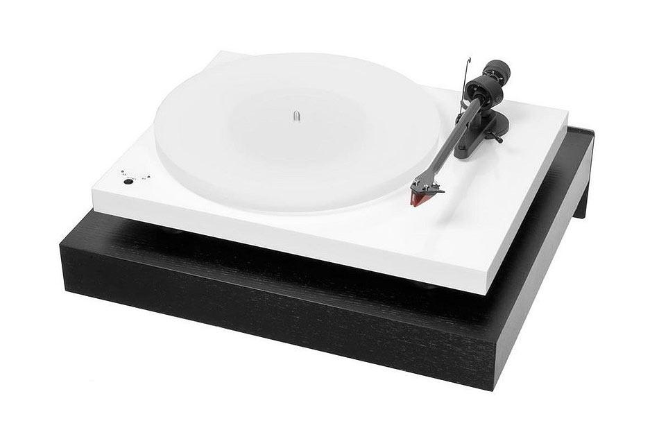 AQ Console Gramo G2 black antirezonančný nástenný držiak pre gramofóny a HiFi komponenty
