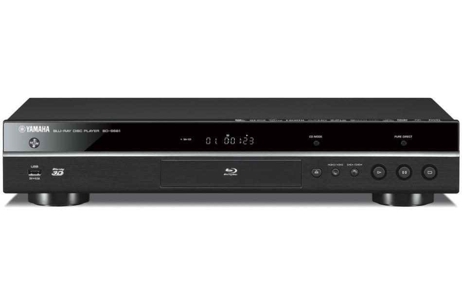 3D sieťový 4k Blu-ray prehrávač Yamaha BD-S681 Black