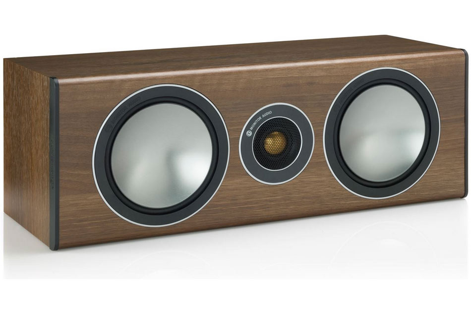 Monitor Audio Bronze Centre centrálny reproduktor walnut