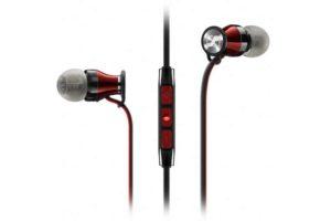 Sennheiser Momentum In-Ear Red-Black, luxusné dynamické In-ear slúchadlá (do uší)